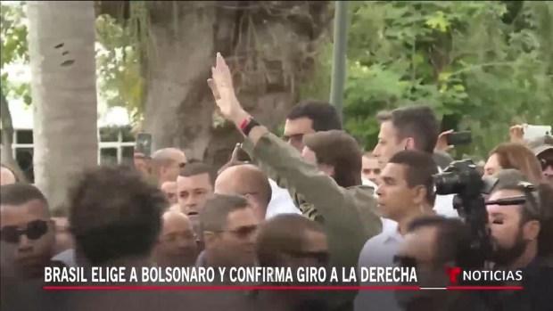 [TLMD - LV] Brasil gira a la derecha con victoria de Bolsonaro