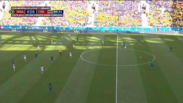 ¡Increíble! Brasil golea en los últimos minutos del partido