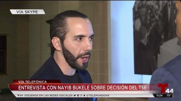 [DC] Bukele: Mi candidatura hoy por hoy no existe
