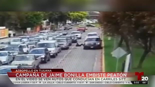 [TLMD - SD] Campaña de Jaime Bonilla atropella peatón