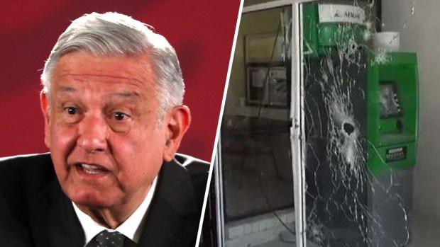 AMLO reacciona a enfrentamientos del cártel en Coahuila