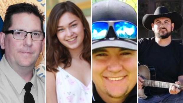 Las víctimas del tiroteo en el bar Bordeline, en California