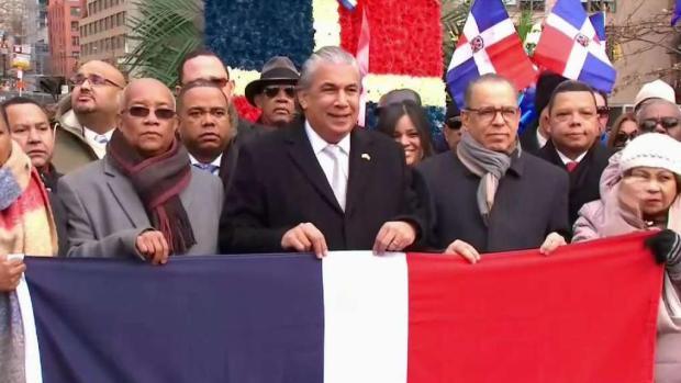 [TLMD - NY] Conmemoran en NYC la independencia dominicana