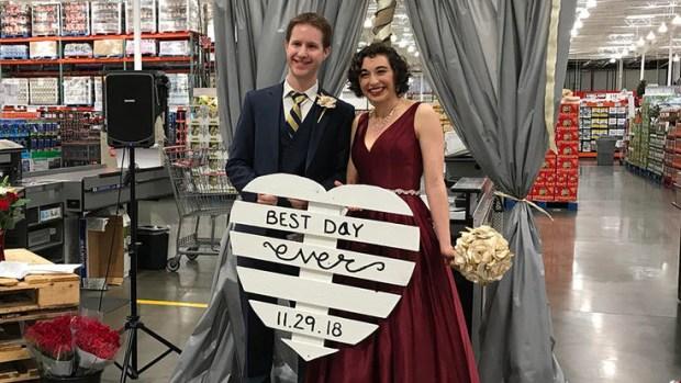 Fotos de una boda mágica en Costco