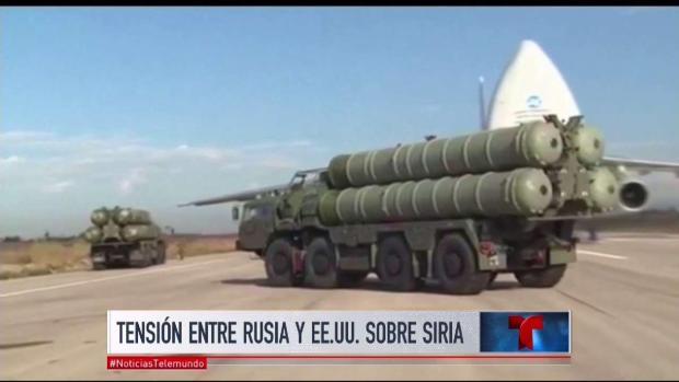 Crece tensión entre EEUU y Rusia por conflicto en Siria