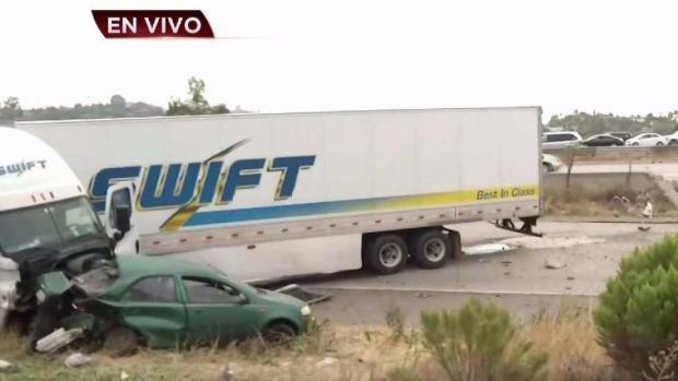 [TLMD SD] Dos muertos en accidente vial sobre la I-8