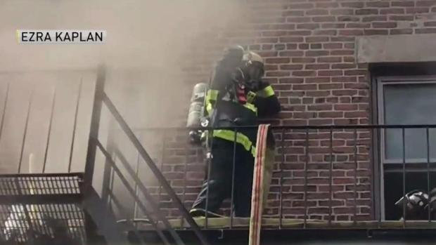 [TLMD - Boston] Dramático escape de incendio en Allston