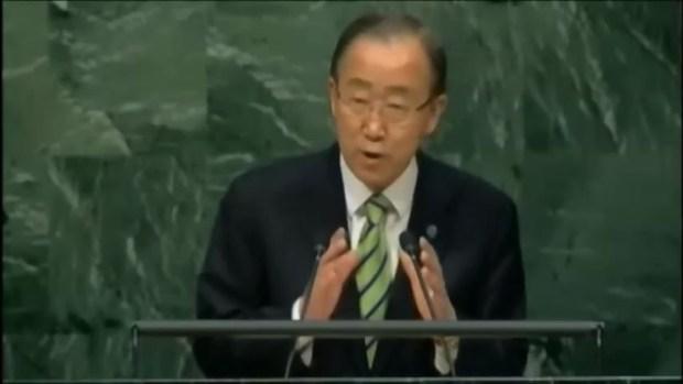 ONU: 175 países firman acuerdo sobre cambio climático
