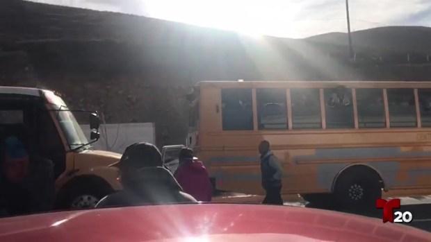 [TLMD - SD] Entrevista de caravana migrante llega a Tijuana