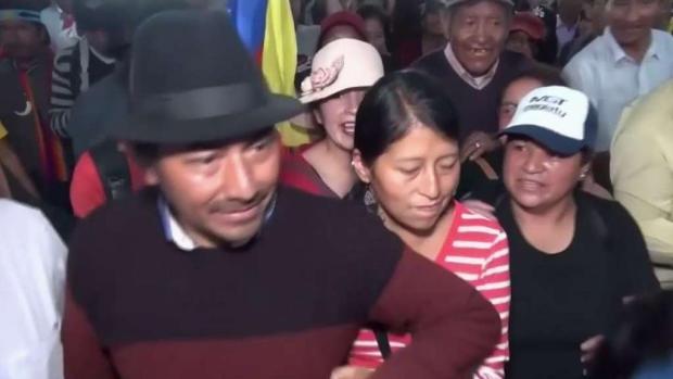 [TLMD - NY] Ecuador no descarta un presidente indígena en el futuro