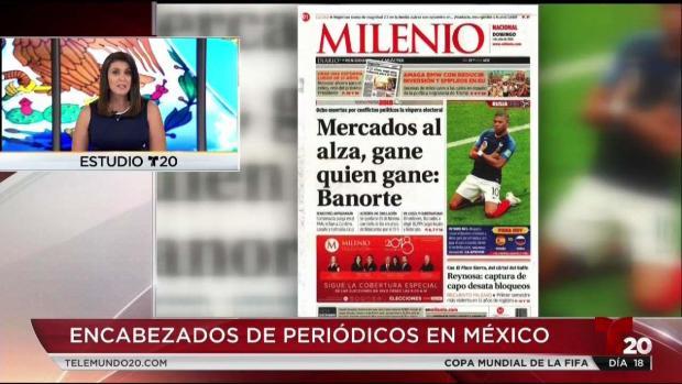 [TLMD - SD] Encabezados de periódicos en México