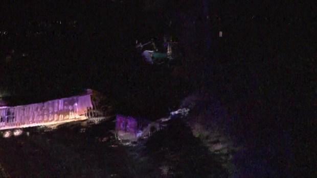 [TLMD - Tampa] Autoridades continúan trabajando en la escena del choque mortal en I-75