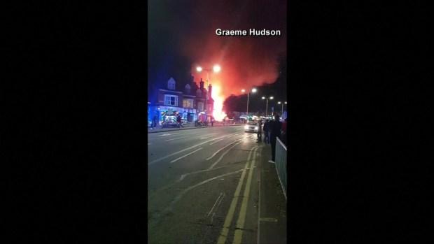 Explosión en Inglaterra, hay muertos