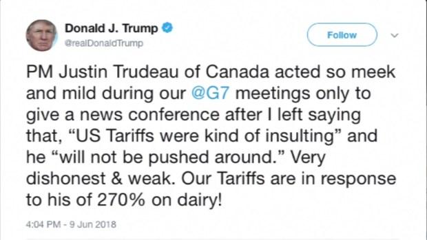 [TLMD - MIA] Trump G7 Tuit