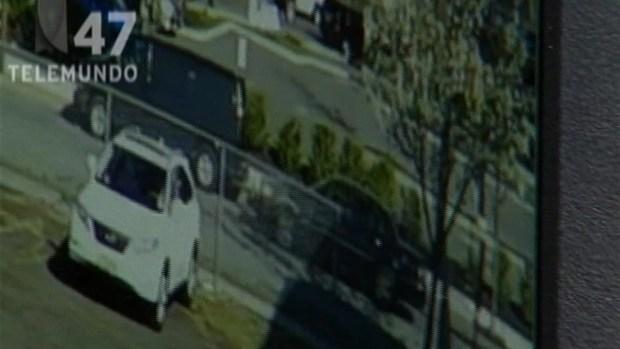 [TLMD - NY] Video: Auto aplasta a otro contra una pared en Clifton