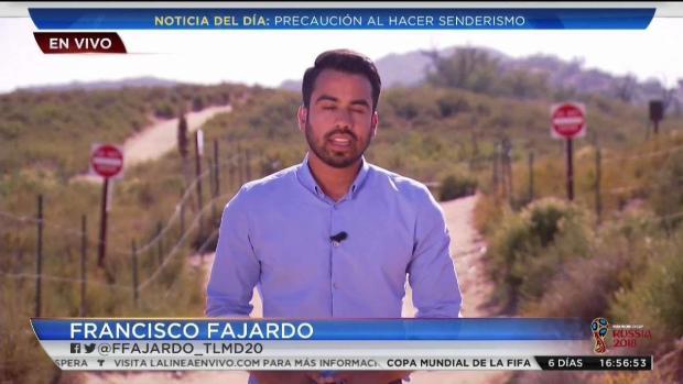 [TLMD - SD] Fallece joven hispana senderista