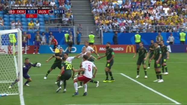 [World Cup 2018] ¡Increíble! Australia se salva de marcarse un Autogol