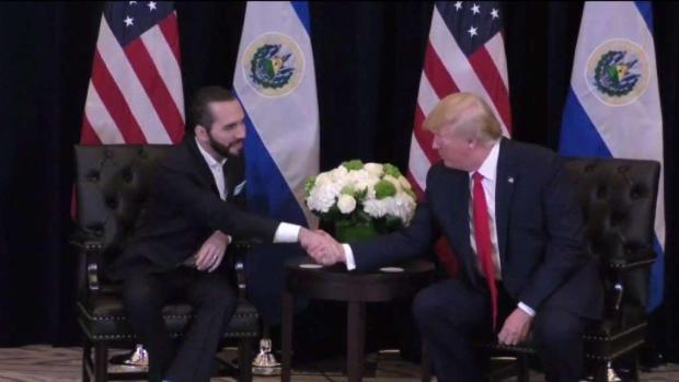 Futuro del TPS tras reunión entre Bukele y Trump