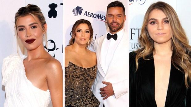 Estrellas acuden a gala de Ricky Martin y Eva Longoria por Puerto Rico