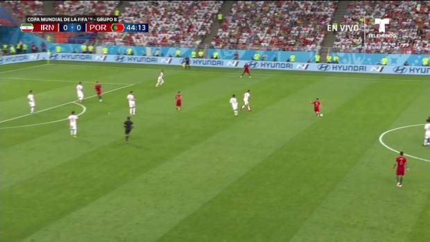¡Golazo! Portugal marca el primero contra Irán