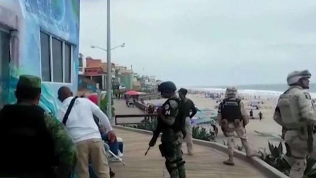 [TLMD - SD] Guardia Nacional ronda cerca de refugios de migrantes