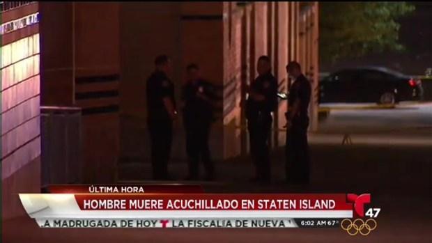 [TLMD - NY] Hombre muere  a puñaladas en Staten Island