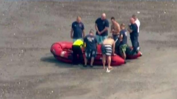 [TLMD - Boston] Hombre rescatado en Revere Beach lucha por su vida