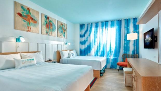 Primer vistazo al nuevo hotel de Universal: Endless Summer Resort