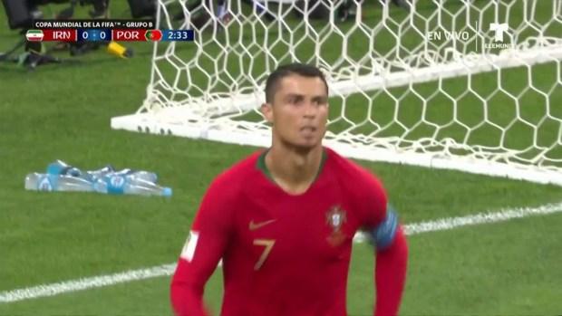 [World Cup 2018 PUBLISHED] Primera llegada de Cristiano y el portero salva en dos tiempos