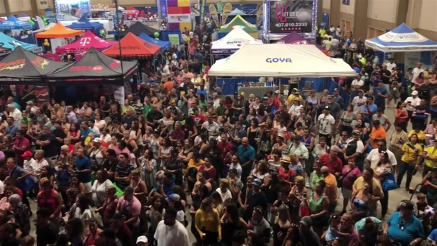 Casa llena en Feria Telemundo