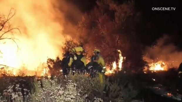 [TLMD - SD] Incendio cerca de Murrieta no ha sido controlado