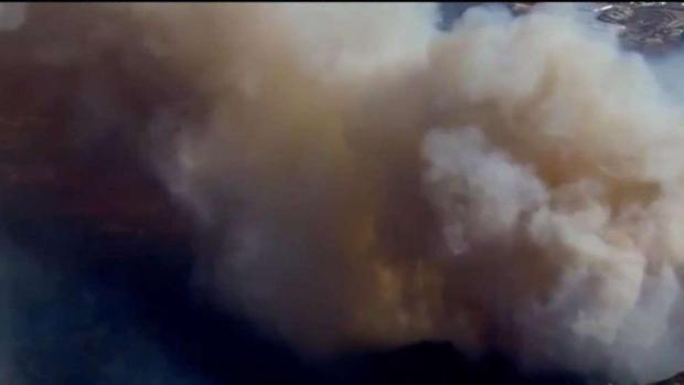 [TLMD - SD] Incendio en Tecate amenaza con cruzar la frontera