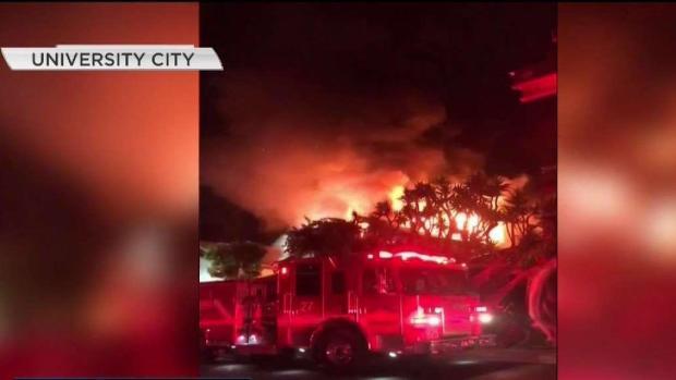[TLMD - SD] Incendio en University City