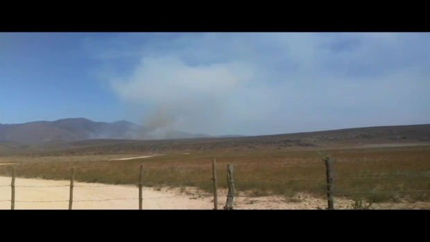 [TLMD - SD] Incendio en el este de Tijuana y San Diego