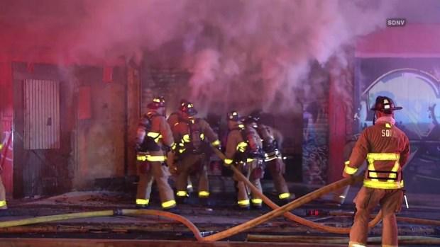 [TLMD - SD] Incendio en mercado en Logan Heights
