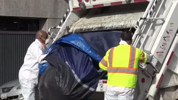 [TLMD - SD] Jornadas de limpieza para mover a personas sin hogar