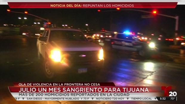 [TLMD - SD] Julio un mes sangriento para Tijuana