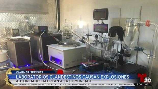 Laboratorios clandestinos causan explosiones