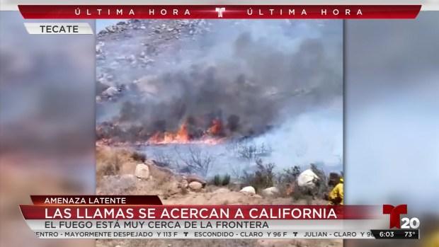 [TLMD - SD] Las llamas se acercan a California