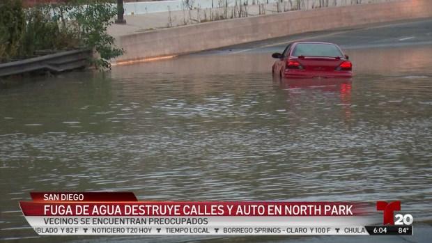 [TLMD - SD] La inundación genera problemas por más de un día
