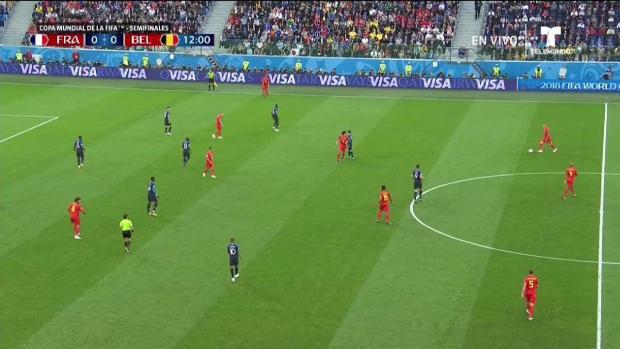 La velocidad de Mbappe complica los sueños Mundialistas de Bélgica