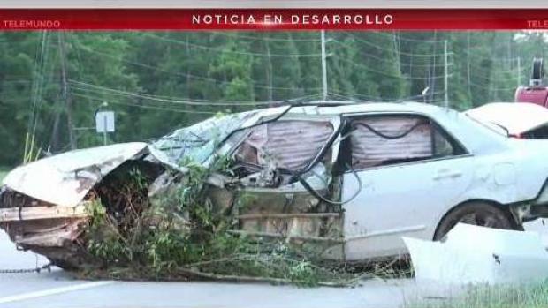[TLMD - Houston] Lo encuentran vivo días después de accidente de auto