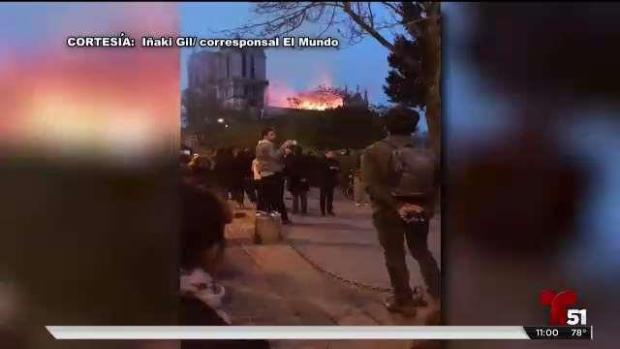 [TLMD - LV] Lo que se sabe del incendio de Notre Dame