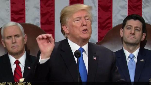 Discurso de Trump aumenta  división