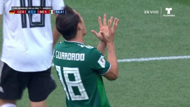 [World Cup 2018 PUBLISHED] ¡México se pierde segundo gol ante Alemania!