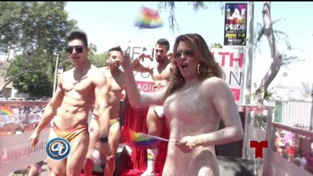 """[TLMD - LA] Machado: """"Todos pertenecemos a la comunidad LGBTQ"""""""