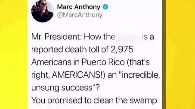 [TLMD - LV] Marc Anthony arremete contra el presidente Trump
