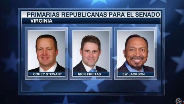 Miles votan en primarias de Virginia