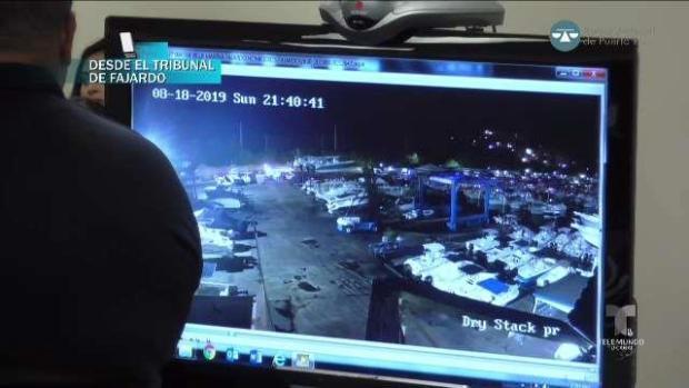 Muestran en sala imágenes captadas por la cámara de seguridad de Villa Marina