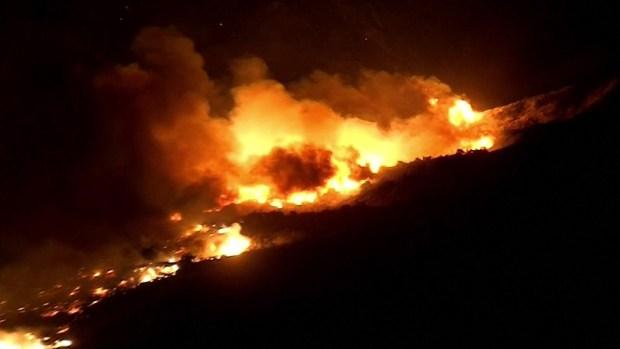 [TLMD - MIA] Imagenes aereas de incendio en California